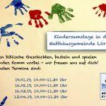 Plakat_Kindersamstage 2019