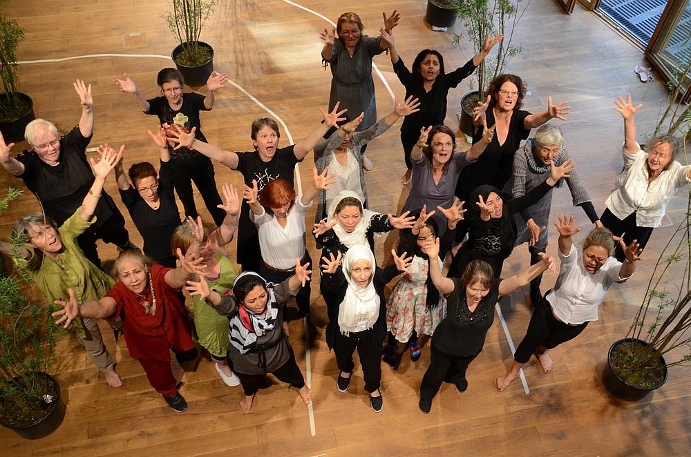 Tanz- und Musikperformance Kaleidoskop