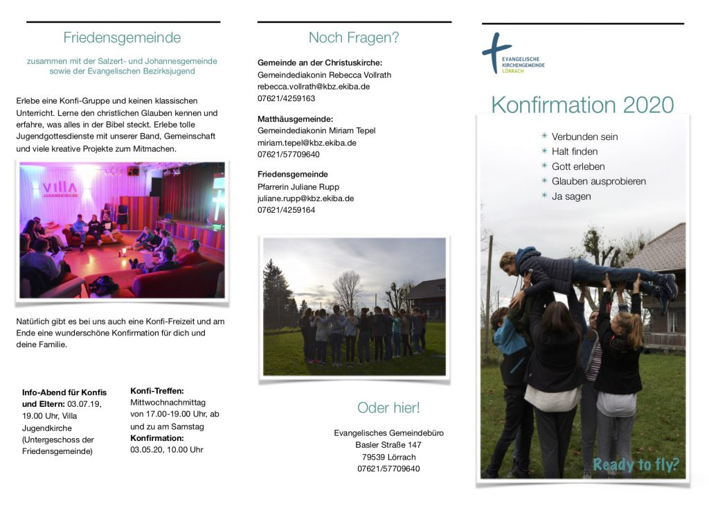 Flyer_Einladung Konfirmation 2020