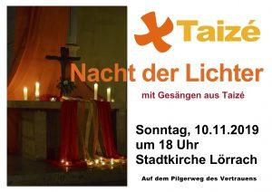 Nacht der Lichter @ Stadtkirche Lörrach